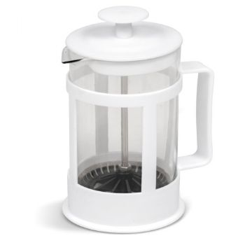 Coffee Plunger 850ml - Solid White